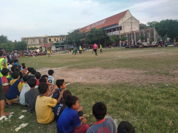 Juara 2 soccer mini U-15 desa sedayulawas